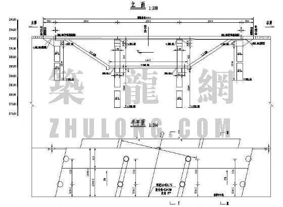 3x13米预应力混凝土空心板成套cad设计图纸