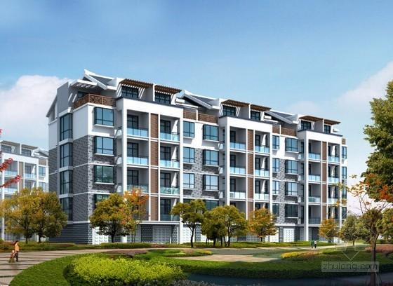 [安徽]住宅小区建筑安装工程量清单计价(含全套施工图纸 招标文件)