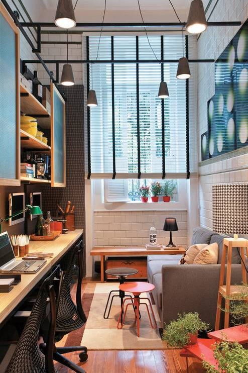室内设计|N款工作间与书桌,看一眼就为之着迷!_9