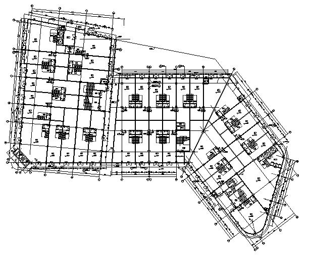[广东]高层养生商业广场建筑施工图(含全专业图纸)_3