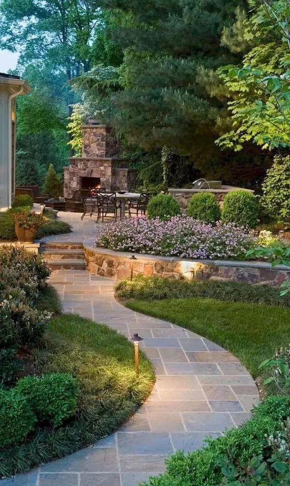 看人家别墅庭院这样设计,堪比皇家园林!