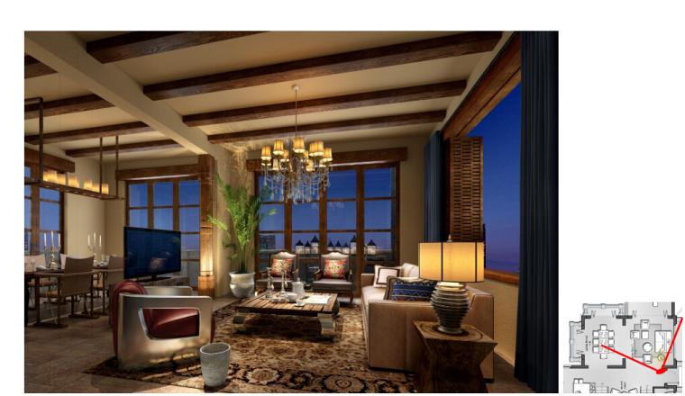 [海口]南加州风格低层度假住宅设计施工图(含效果图+软装概念)_6