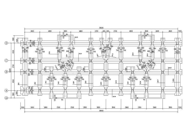 [海南]三栋地上6层框架结构安置楼房结构施工图