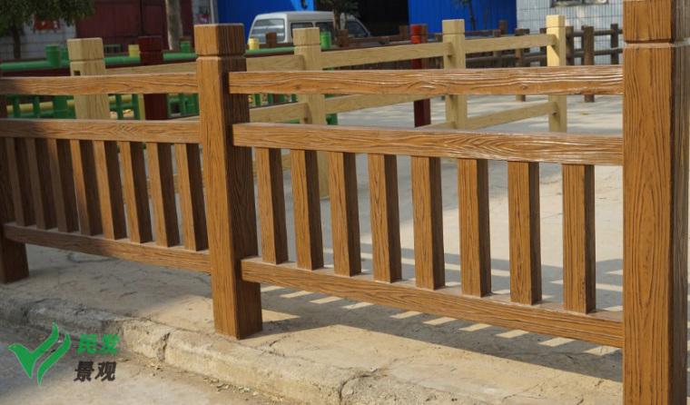 河南仿木栏杆厂家分享一键get水泥仿木栏杆安装好之后如何维护保