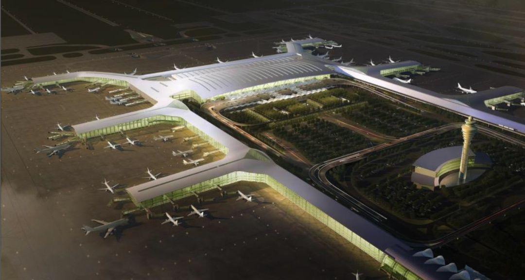漫谈金属屋面的建筑设计应用(1)——广州新白云国际机场航站楼_17