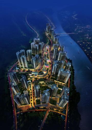 [贵州]高层现代风格围合式布局住宅建筑设计方案文本
