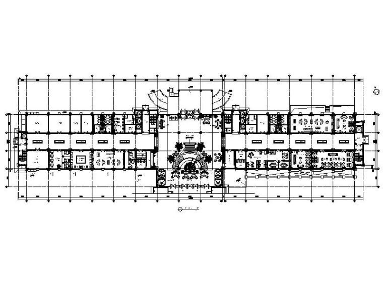 [内蒙古]新古典主义全能型超豪华酒店设计施工图(含效果图)