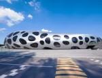 钢结构搭建的足球场