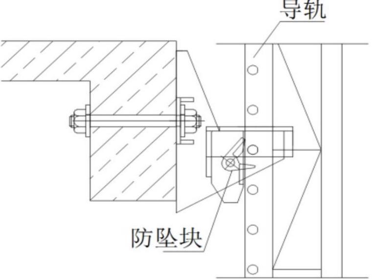 郑州棚改项目附着式升降脚手架施工方案-附墙支座