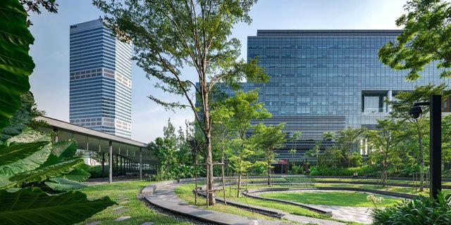 16-新加坡Comtech商业园区景观设计第16张图片