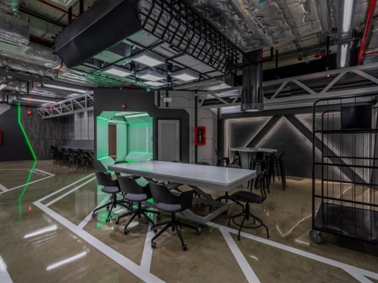 曼谷一间科幻主题办公室