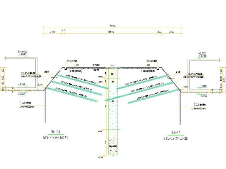 [浙江]土钉墙基坑支护施工图
