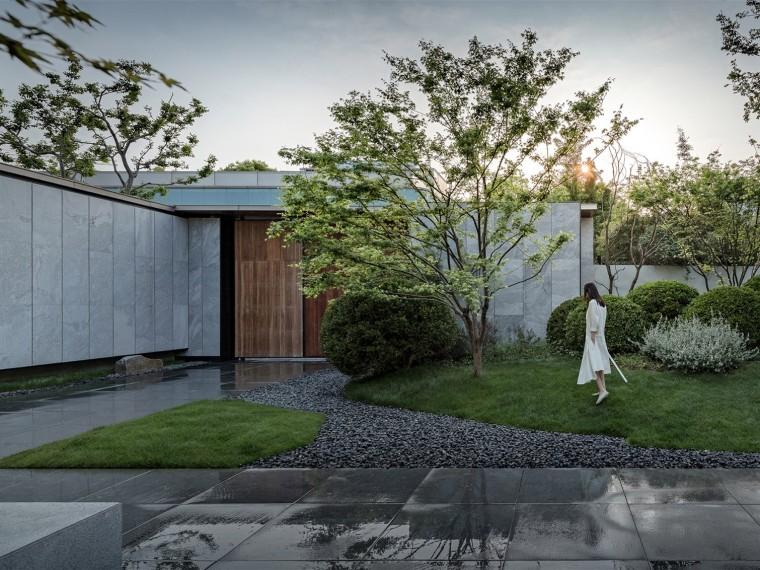 苏州银城原溪庭院
