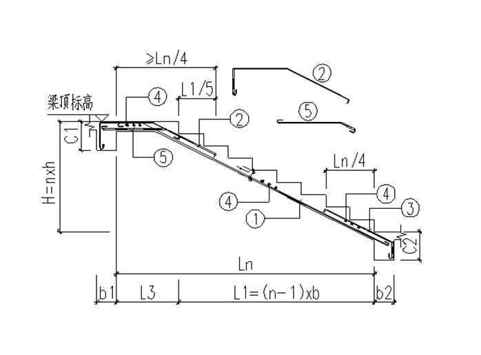 板式楼梯结构计算书2016_32层剪力墙结构