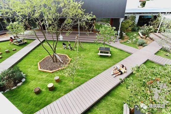 庭院式幼儿园3例