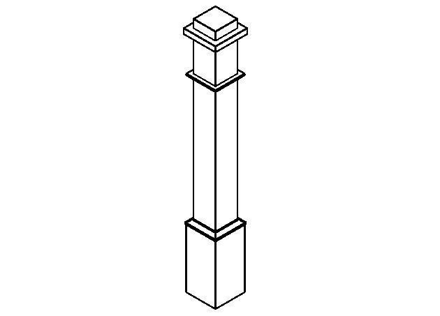 bim软件应用-族文件-常规栏杆