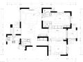 [杭州]白金海岸三居室住宅设计施工图及效果图