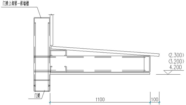 福建细木工板车间单层门式刚架结构施工图_3
