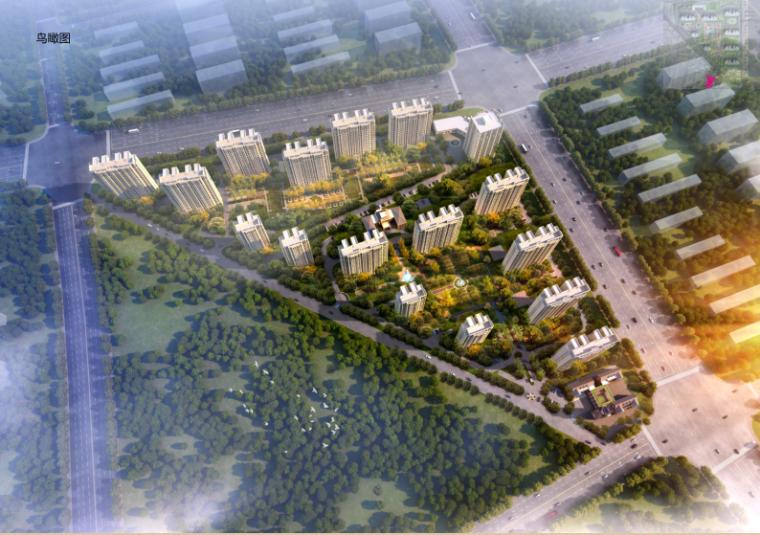 [河北]20层高层住宅及幼儿园建筑设计方案文本(16年最新项目)_1