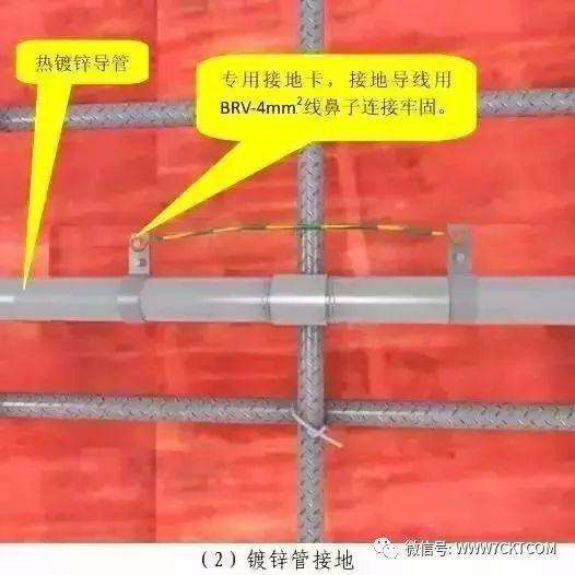 建筑电气设计|预留预埋及管道安装施工质量标准化做法!_11