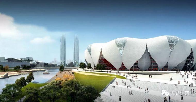 工程实录|杭州奥体中心|江畔盛莲