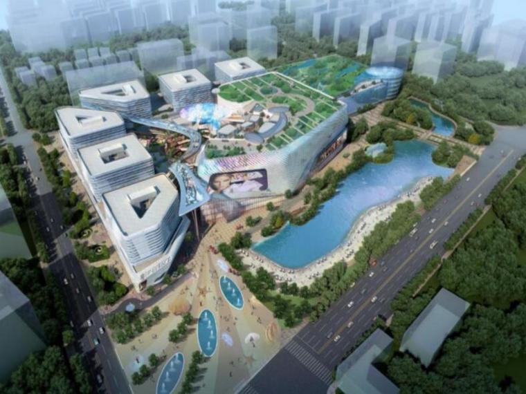 上海商业综合体广场项目BIM实施规划