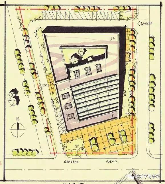 建筑快题设计中道路设计知多少?图片