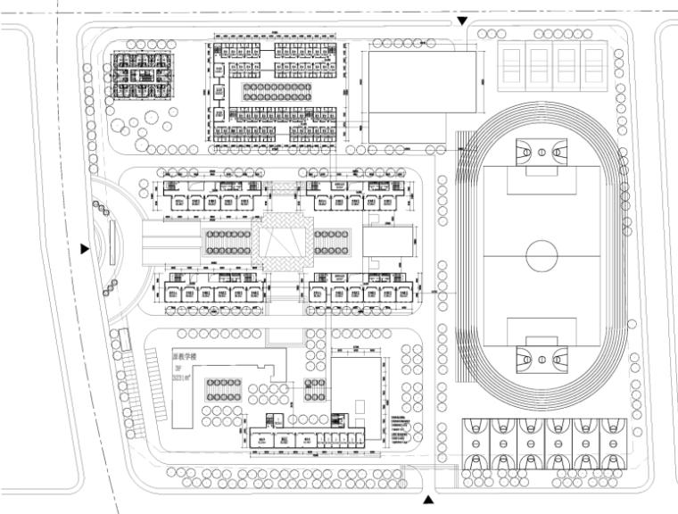 [四川]现代风格中学规划与建筑设计方案文本(含两套方案))_9