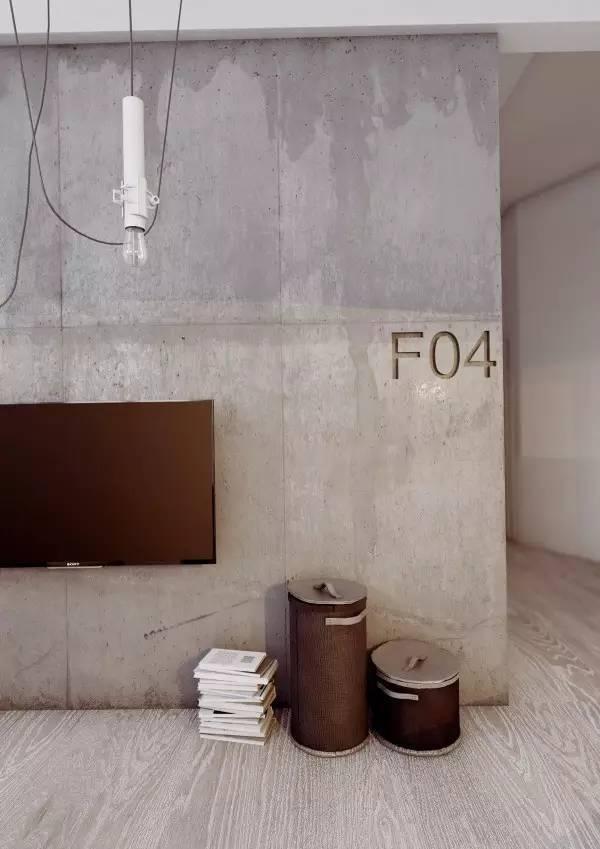 居|水泥裸砖的艺术范儿!真的太喜欢!_13