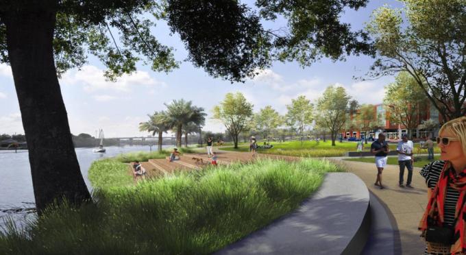 [湖南]生态疗养胜地滨水台地湿地公园设计方案