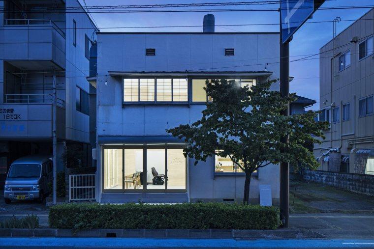 日本商住两用的建筑