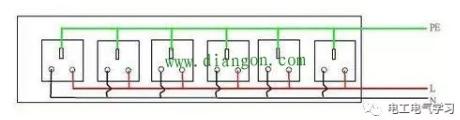 家用开关插座接线方法 家装电工必知