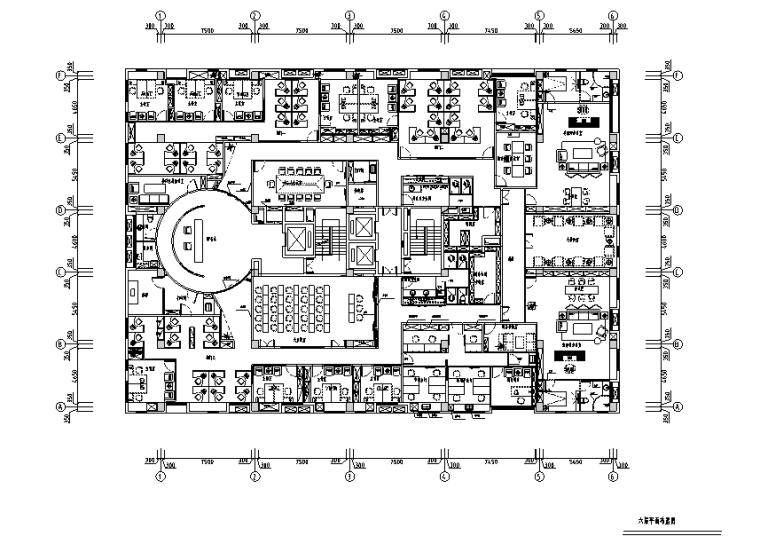 [天津]泰宇集团办公空间设计施工图(附效果图)