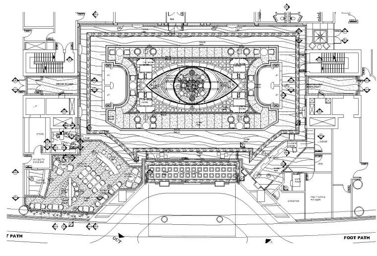 [迪拜]某大型奢华酒店内部装修施工图设计