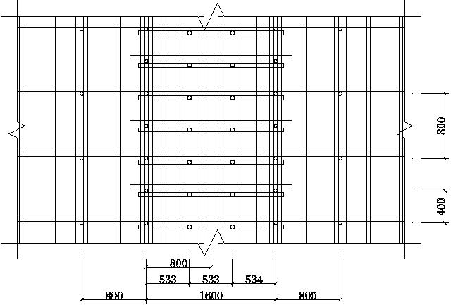 地块住宅宾馆项目高大排架模板方案