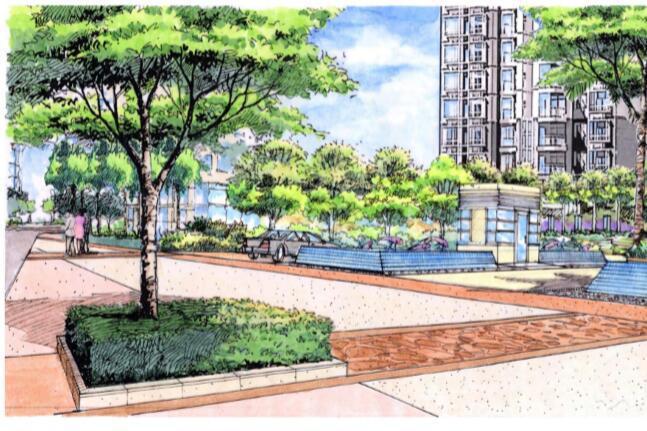 [上海]普陀旧城改造景观方案设计方案文本(可持续发展,生动)
