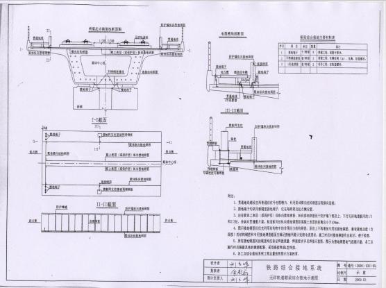 普通铁路高速铁路综合接地图纸_5