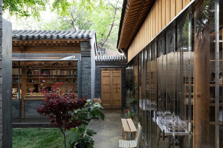 北京胡同中的工作室改造