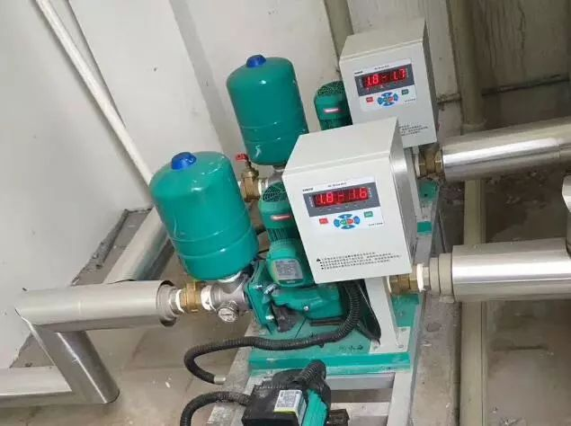 传统供水方式与变频供水方式的比较