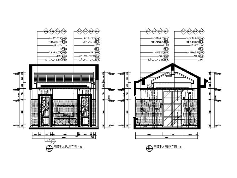 地中海别墅设计CAD施工图(含效果图、软装方案)_6
