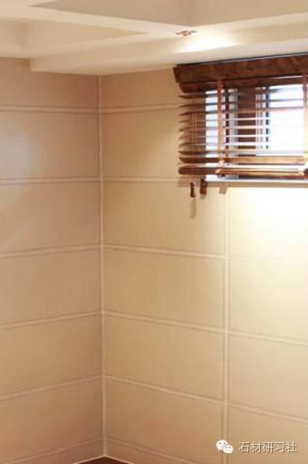 家装墙面石材铺贴及留缝阳角作法