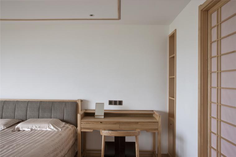 简单自然的中式风格住宅室内实景图 (17)