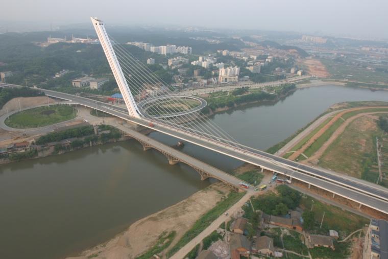 桥梁工程之斜拉桥设计概论(PPT,94页)-长沙洪山庙大桥
