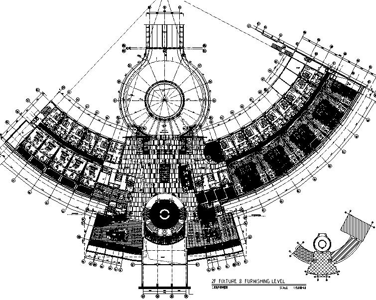 CCD-三亚鸿洲游艇国际酒店设计施工图(附效果图)