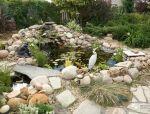 构建花园的山水景观!