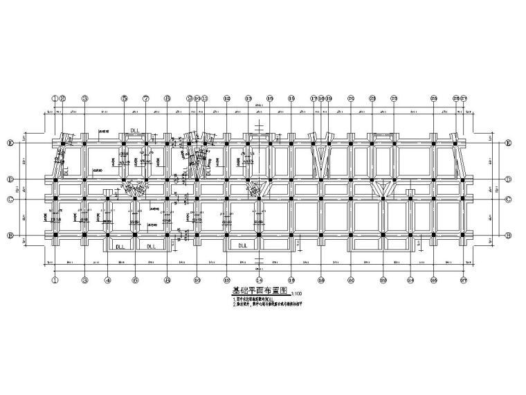 [海南]地上五层框架结构住宅楼结构施工图