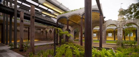 澳大利亚帕丁顿水库花园景观
