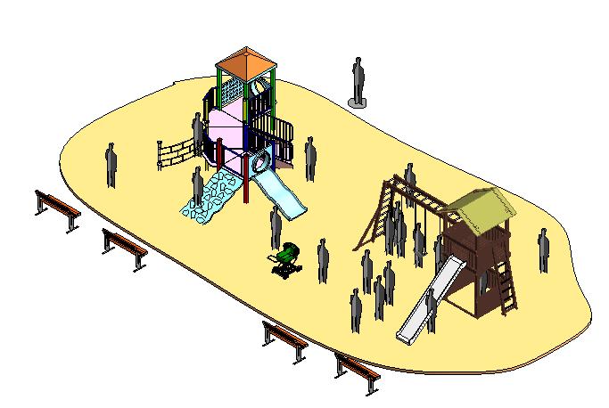 bim软件应用-族文件-儿童游戏