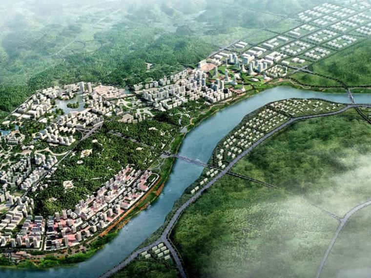 [四川]宜宾临江经济开发区城市设计方案文本
