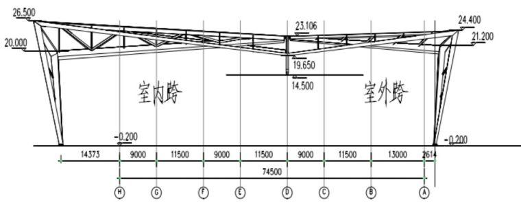 对于大跨结构除了网格结构你还有一个选择—折板_33